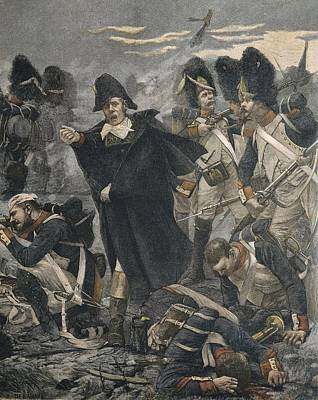 The French General Pierre Cambronne Art Print