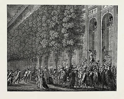 The French Revolution Desmoulins Rallying The People Art Print