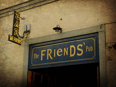 Photograph - The Friends' Pub by Valerie Reeves