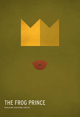 Modern Poster Digital Art - The Frog Prince by Christian Jackson