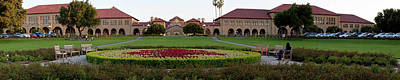 Stanford University Photograph - The Front Of Stanford University by Panoramic Images