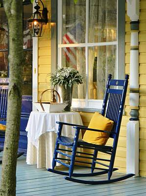 Photograph - The Front Porch by Jean Goodwin Brooks