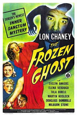 The Frozen Ghost Art Print