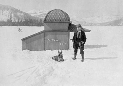 German Shephard Photograph - The Frozen North, 1922 by Granger