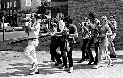 Pierce Brosnan Photograph - The Fruit And Veg Band #1 by David M Davis