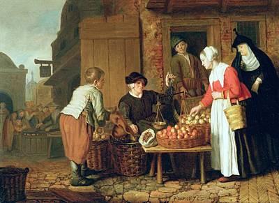 The Fruit Seller Art Print