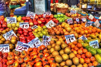 Photograph - The Fruit Stand by Mark Bowmer
