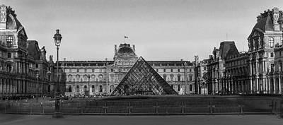 The Full Louvre Denise Dube Art Print