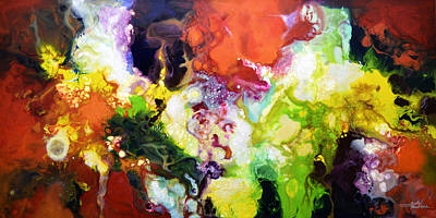 Painting - The Fullness Of Manifestation by Sally Trace