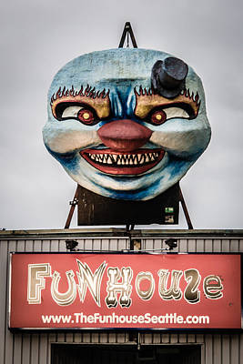 Photograph - The Funhouse by Melinda Ledsome