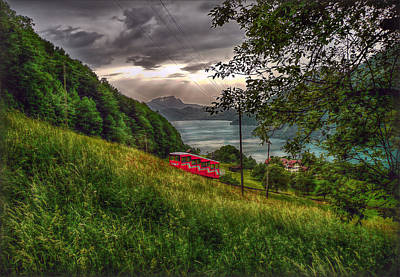 Photograph - The Funicular by Hanny Heim