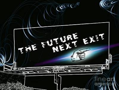 World Photograph - The Future Next Exit by Daryl Macintyre