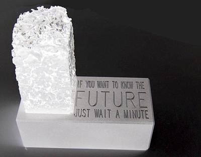 Art Print featuring the sculpture The Future by Tony Murray