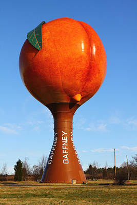 Photograph - the Gaffney Peach by Joseph C Hinson Photography