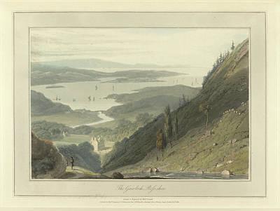 The Gair-loch Art Print by British Library