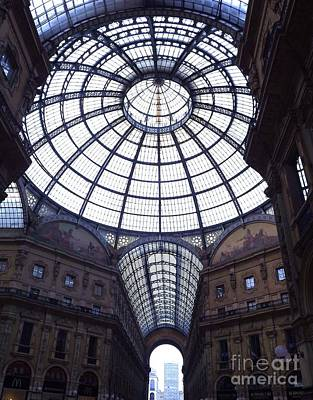 The Galleria Milan Italy Art Print