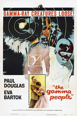 The Gamma People, Us Poster, Bottom Art Print by Everett