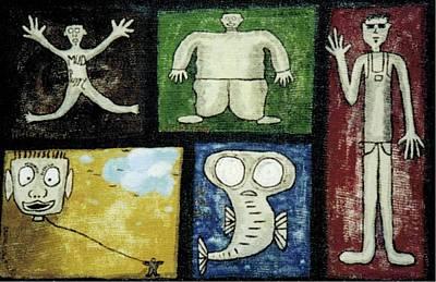 The Gang Of Five Art Print