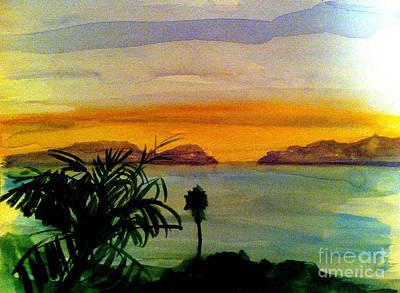 Malibu Painting - The Gap by Sandra Stone