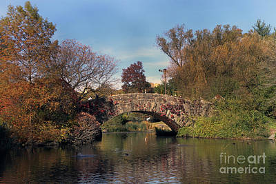 Photograph - The Gapstow Bridge In Central Park by Steven Spak