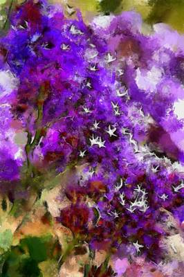 Digital Art - The Garden 1 by Ernie Echols