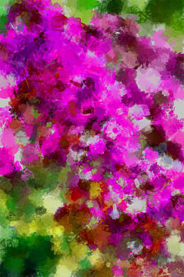 Digital Art - The Garden 2 by Ernie Echols