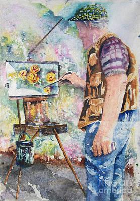 The Garden Artist Art Print