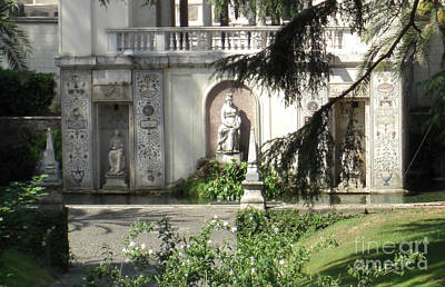 Photograph - The Garden At The Pope's Private Residence by Deborah Smolinske