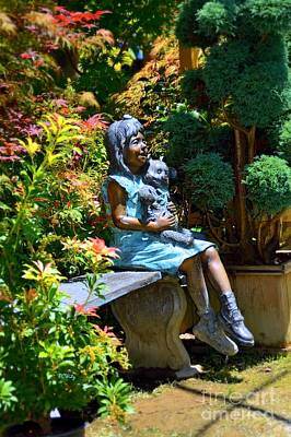 Photograph - The Garden Bench by Patrick Witz