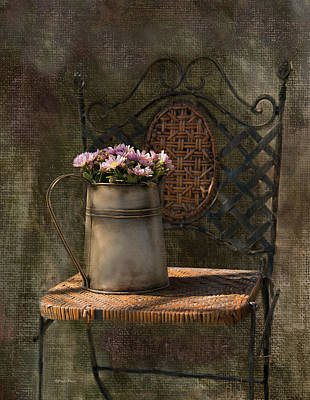 Photograph - The Garden Chair by Robin-Lee Vieira