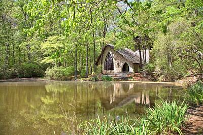 Photograph - The Garden Chapel by Gordon Elwell