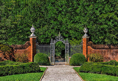 Photograph - The Garden Gate by Frank J Benz