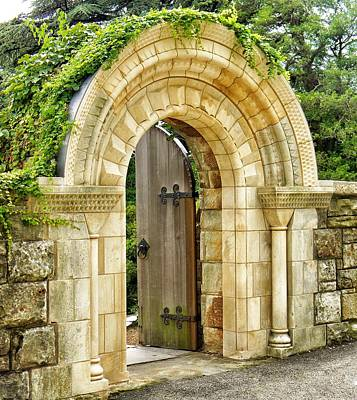 Photograph - The Garden Gate by Jean Goodwin Brooks