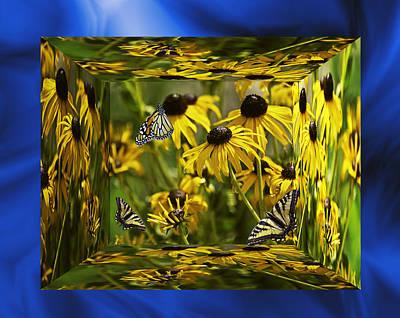 The Garden In Your Mind Art Print by Diane Schuster