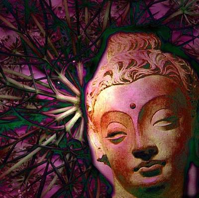 The Garden Of Buddha Print by Martine Jacobs