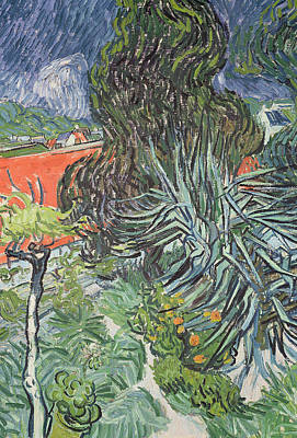 Le Jardin Wall Art - Painting - The Garden Of Doctor Gachet At Auvers-sur-oise by Vincent van Gogh