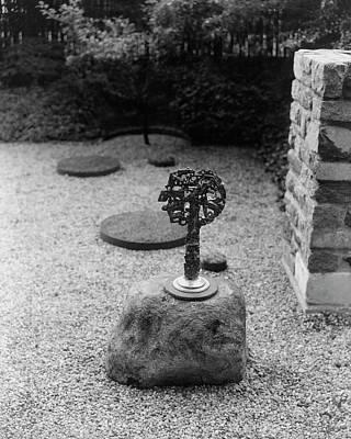 Photograph - The Garden Of Edward Wormley by Herbert Matter