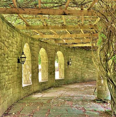 Photograph - The Garden Walkway by Jean Goodwin Brooks
