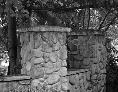 Photograph - The Garden Wall by Kirt Tisdale