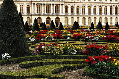 Versallies Gardens Photograph - The Gardens At Versailles by Tom Prendergast