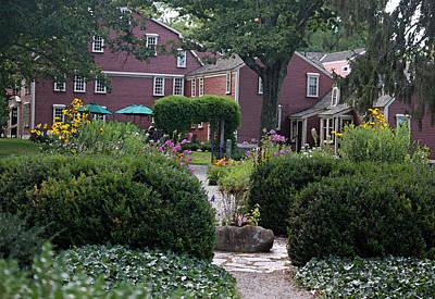 The Gardens At Wayside Inn Original by Suzanne Gaff