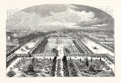 The Gardens Of The Horticultural Society At Kensington Art Print