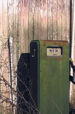 The Gas Pump Original by Sharon Costa