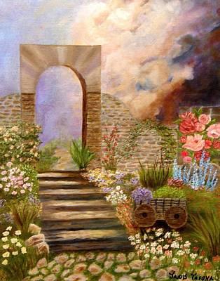 The Gate Art Print by Janis  Tafoya