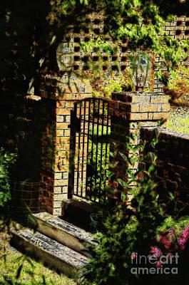 The Gate Art Print by Nancy E Stein