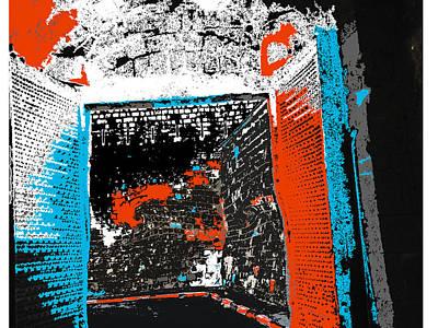 Tapestries - Textiles Digital Art - The Gate... by Ricardo Mester