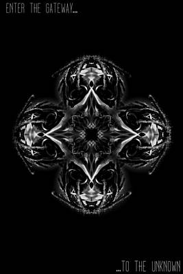 Alienating Digital Art - The Gateway by Beni Cufi