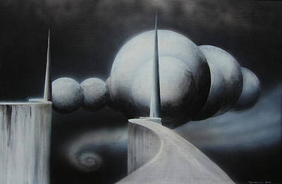 Painting - The Gateway by Tim Mullaney