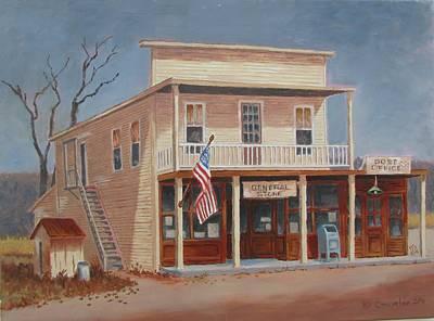 Painting - The Gathering Place by Tony Caviston