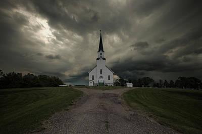 The Gathering Storm Art Print by Aaron J Groen